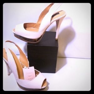 Zara Basics Slingback Heels